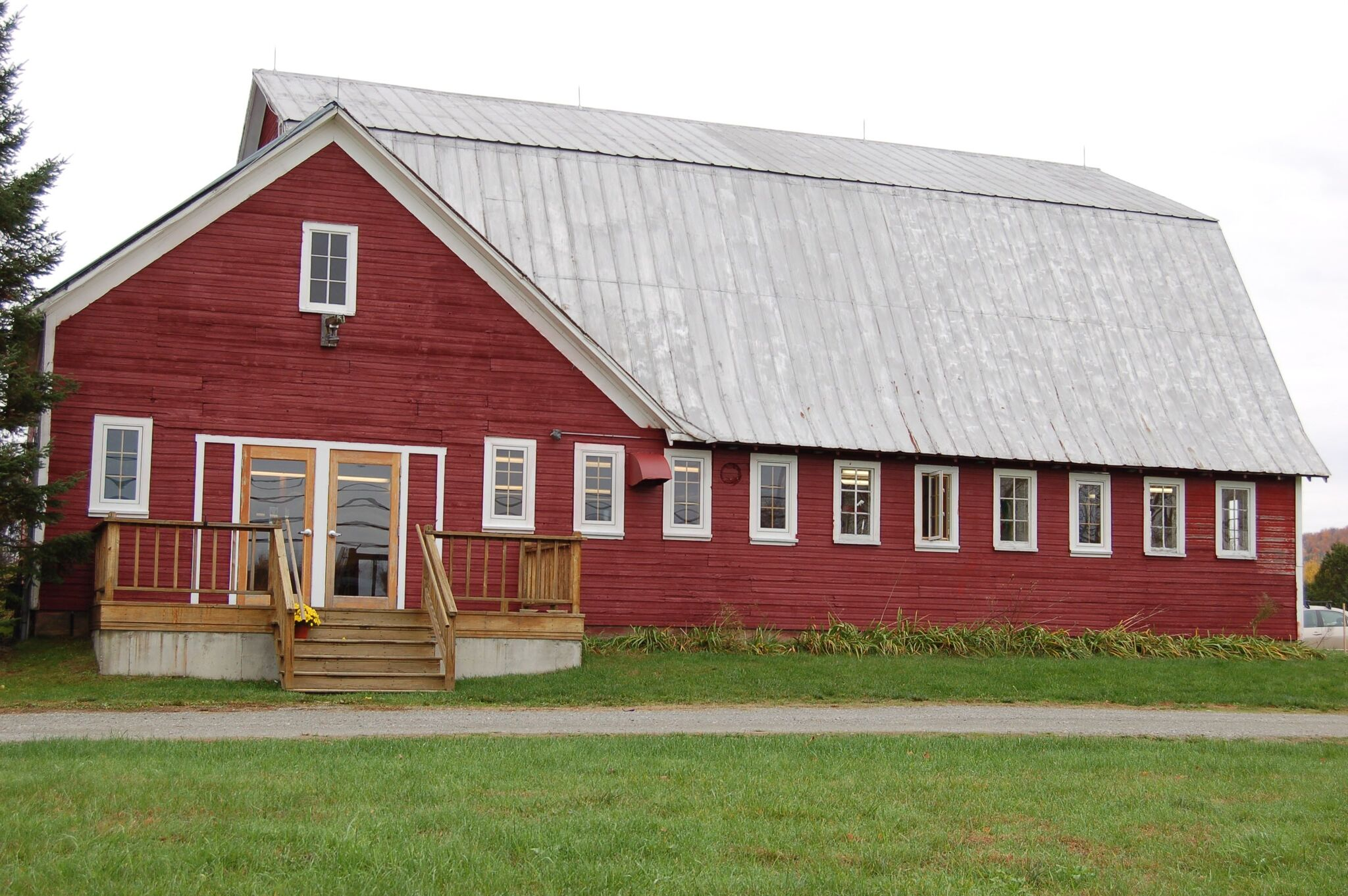 Our Home is a Converted Barn on Route 15
