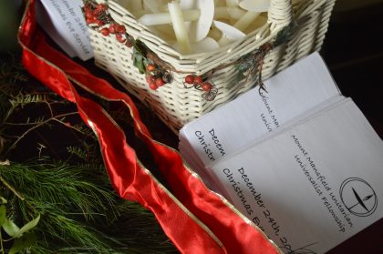 Christmas Eve Order of Service